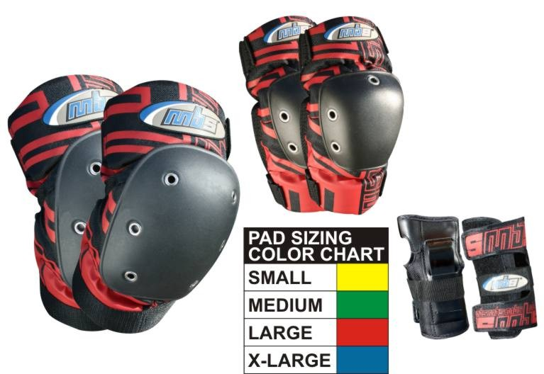 MBS Pro Pads - Tri Pack Set